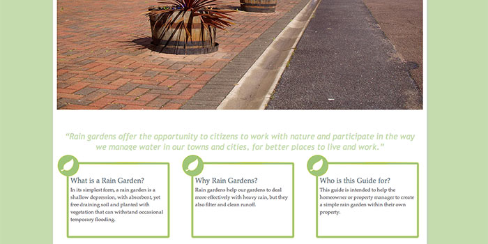 A Rain Gardens Guide Website